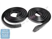 1971-73 Gm B Body Roofrail Weatherstrip Seal Pair - Rr5007a