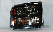 Right Side Headlight Assembly For 2005-2007 Ford F Series Truck Harley Edition
