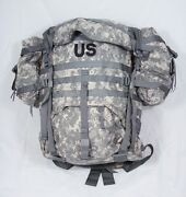 Usgi Acu Digital Military Molle Ii Large Rucksack W/frame And Pouches Bug Out