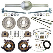 Currie 9 Ford 57 Street Rod Rear End And Disc Brakeslinesparking Cablesaxles