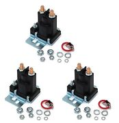 3 Relay Solenoids For Western 56131k For Buyers Sam 1306310 4 Post W/ Hardware
