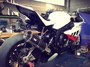 Bmw S1000rr 2010-2014 Silmotor Exhaust Full System 4x2x1 With Carbon Silencer
