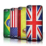 Stuff4 Back Case/cover/skin For Apple Ipod Touch 5/flags