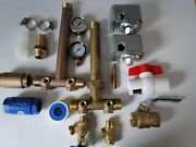 Build Your Water Well Pressure Tank Tee Install Kit 1 X 11 Union Brass No Lead