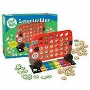 Leap Frog Prek Learning Lot Math Mission Puzzle + Line Up Game New