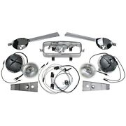 Mustang Gt Fog Light Corral Switch Kit Complete Brand New 1966 66 Quality Parts