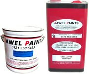 Cellulose Paint And Thinner For Vintage And Classic Cars Merc 147 White 10 Lt Kit