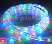 Multicolour Led Rope Light Outdoor Lights Multi And Static Christmas Xmas Gardens