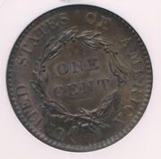 Choice 1820 1c Coronet Head Copper Large Cent Pq Large Date Ms64bn Ngc