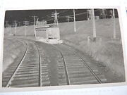 1949 Montreal Southern Counties Canada 2.5x3.5 Trolley Photo Negative