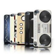 Stuff4 Back Case/cover/skin For Apple Ipod Touch 5/retro Tech