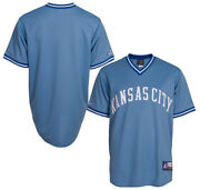 Nwt Kansas City Royals Majestic Big And Tall Cooperstown Menand039s Replica Jersey