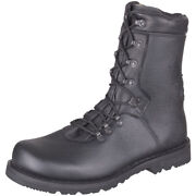 German Army Combat Military Black Mens Police Cadet Leather Boots Type 2000
