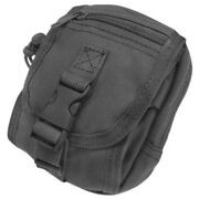 Condor Tactical Multifunctional Gadget Utility Pouch Molle System Webbing Black