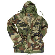 Military Smock Combat Hooded Parka Long Mens Jacket French Army Cce Camo S-3xl