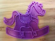Rocking Horse Cookie Cutter - Choice Of Sizes - 3d Printed Plastic