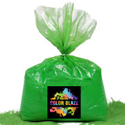 Color Blaze Powder Green 25lbs - Ideal For Runs And Holi Events, Color Wars And More