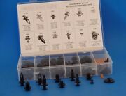 121pcs Assorted Body Clips Fits Honda Cars Items D123 D124 9202 1973 1976 9208 And
