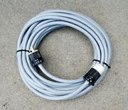 100' 10/3 Grey Power Cable Cord For All 220v Floor Sanders W/30a 250v Plugs