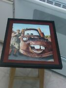Larry The Cable Guy Signed Cars Mator Tow Truck 11x14 Framed Photo