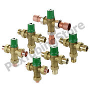 Taco 5000/5120 Thermostatic Mixing Valve 1/2, 3/4 Or 1 In Sweat/npt Lead-free