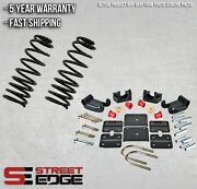 Street Edge 95-02 Chevy Astro/gmc Safari 2wd 2.5 Front And 3.5 Rear Lowering Kit