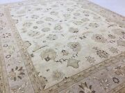 9 X 12 Beige Brown Ziegler Oriental Area Rug All Over Hand Knotted Wool