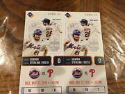 Noah Syndergaard Stub Tickets For His Historical 2nd Big Leaque Winand1st Home Run