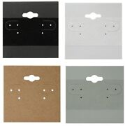 Black White Kraft Or Grey Hanging Earring Cards With Lips Wholesale Earring Card