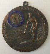 1928 P.a.c.a. Honululu June 1928 Surfing Medal