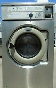 Wascomat Front Load Stainless Steel Washer Coin Op 3ph Model W630 [refurb]