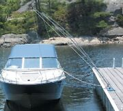 New Premium Mooring Whip Dock Edge 3400-f Length 12and039 Boat Size 23and039 Max Load 5000