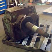 Western Gear Corporation 1180rpm 642.5hp 3.111/1 Ratio Gear Box Frame 8110 M