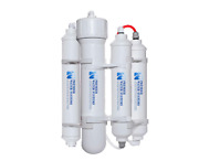 Portable Mini Reverse Osmosis Water Filter System 4 Stage Low Pressure Membrane