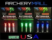 3 Afterburn Crossbow Arrow Lighted Nocks Fits Bolts Size 297-302 Made In Usa