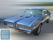 1969 Pontiac Gto Judge Appearance Kit For Convertible White Yellow Olive