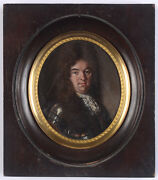 Hyacinthe Rigaud-circle Philippe Dand039orleans High Quality Oil/copper Miniature
