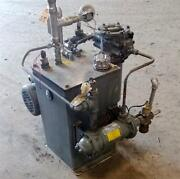 Parker 1hp Hydraulic Power Unit / Heat Exchanger Shell 250psi Tubes 150psi Jch