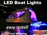 Exterior And Interior Led Boat Lights - 16ft Long Strip - Red Green Blue Multi