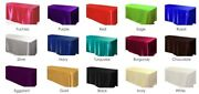 15 Pack 90x132 Rectangular Satin Tablecloth Wedding Party Catering