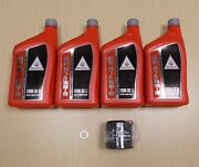 New 2013-2014 Honda Gl1800 Gold Wing F6b Oe Synthetic Oil And Filter Kit