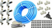 Rapid Air Maxline 3/4 Compressed Air Line System Max Line Shop 300and039 Piping Kit