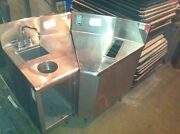 Lot Of 2 Corner Counters - Great For Bar Or Food Truck - Need This Sold - Offer