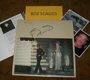 Boz Scaggs Autographed Album And Photos- Real Collectible