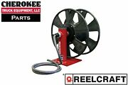 Reelcraft T-1460-0 Heavy Duty Hand Crank Cable Welding Reel Without Cable