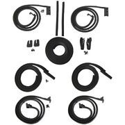 Body Weatherstrip Kit Compatible With 1963-1964 Buick Electra 6 Window Hardtops