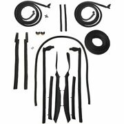 1963 1964 Buick And Chevrolet Impala 2dr Convertible Body Weatherstrip Seal Kit