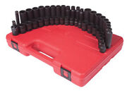 Sunex Tools 3342 3/8in Standard And Deep Length Master Impact Socket Set 42pc
