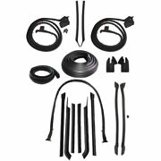 1967 Buick Lesabre And Wildcat 2dr Convertible Body Weatherstrip Seal Kit