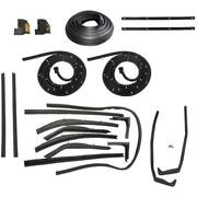 1958 Buick Limited And Roadmaster 2dr Convertible Body Weatherstrip Seal Kit